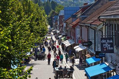 Lillehammer city centre