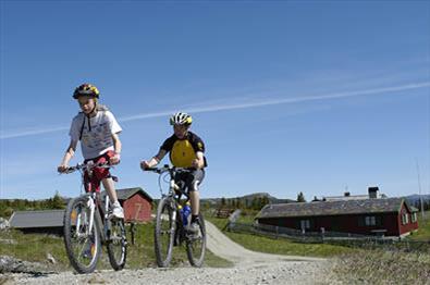 Biking at Kvitfjell