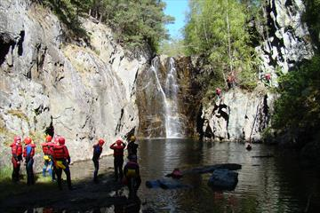 Canyoning | Sjoa Raftingsenter