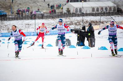 World Cup at Birkebeineren Ski Stadium