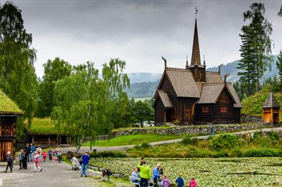 Garmo Stave Church at Maihaugen - summer