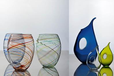 Art from Hett Glass at Fabrikken
