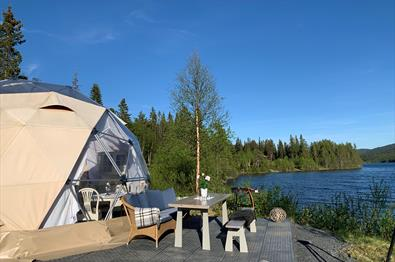 "Visit Dome by the ""Espedalsvannet"""